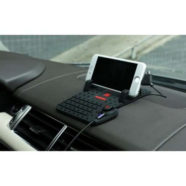 28233 - Автомобильная зарядная станция-держатель Remax для смартфона