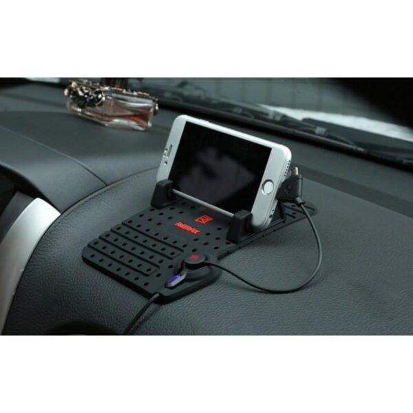 28235 - Автомобильная зарядная станция-держатель Remax для смартфона