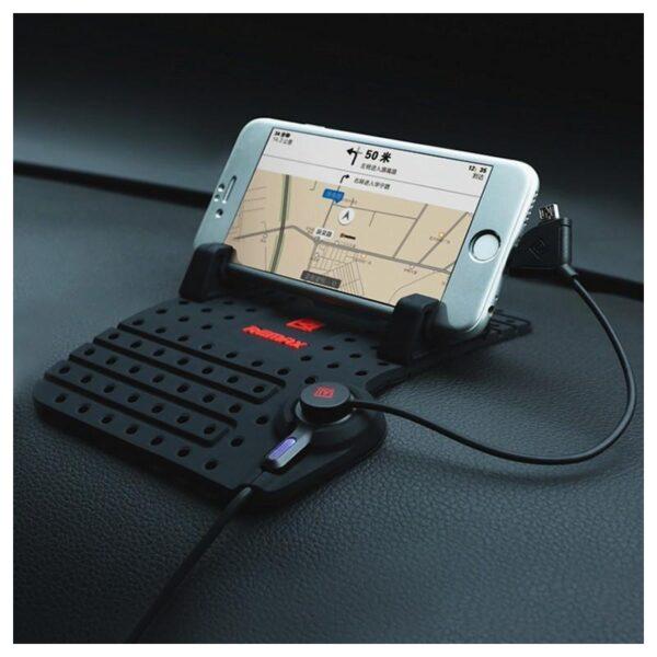 28236 - Автомобильная зарядная станция-держатель Remax для смартфона