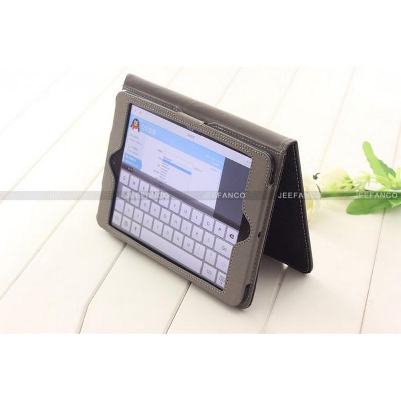 28253 - Кожаный чехол Jeefanco для iPad mini / mini 2 / mini 3