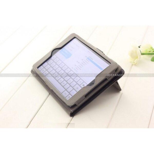 28260 - Кожаный чехол Jeefanco для iPad mini / mini 2 / mini 3