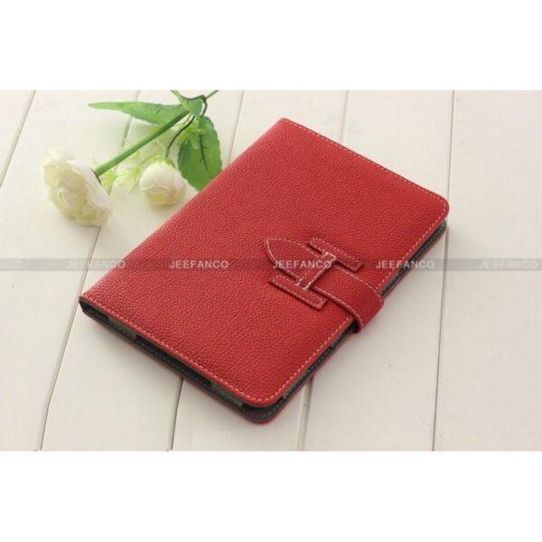 28262 - Кожаный чехол Jeefanco для iPad mini / mini 2 / mini 3