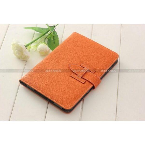 28263 - Кожаный чехол Jeefanco для iPad mini / mini 2 / mini 3