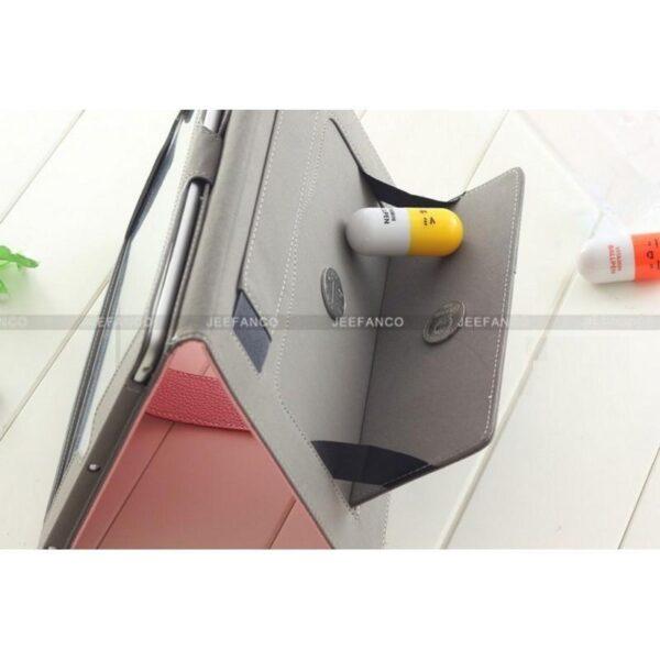28267 - Кожаный чехол Jeefanco для iPad mini / mini 2 / mini 3