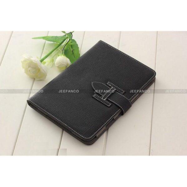 28270 - Кожаный чехол Jeefanco для iPad mini / mini 2 / mini 3