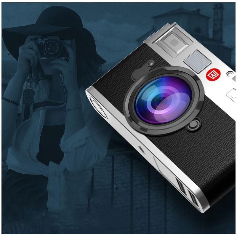 Power Bank Remax – Ретро-фотоаппарат: 10000 мАч, 2 USB-порта 205195