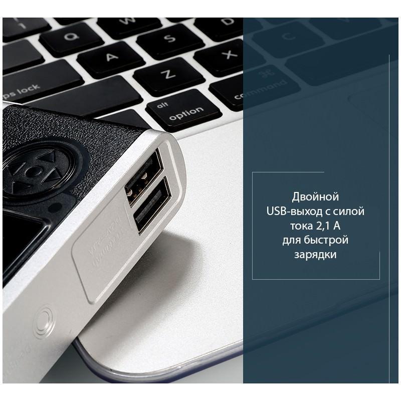 Power Bank Remax – Ретро-фотоаппарат: 10000 мАч, 2 USB-порта 205196