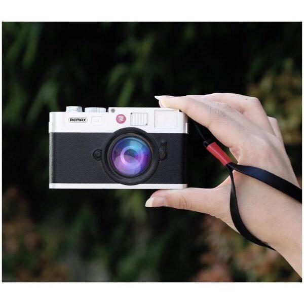 28286 - Power Bank Remax - Ретро-фотоаппарат: 10000 мАч, 2 USB-порта