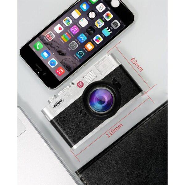 28292 - Power Bank Remax - Ретро-фотоаппарат: 10000 мАч, 2 USB-порта