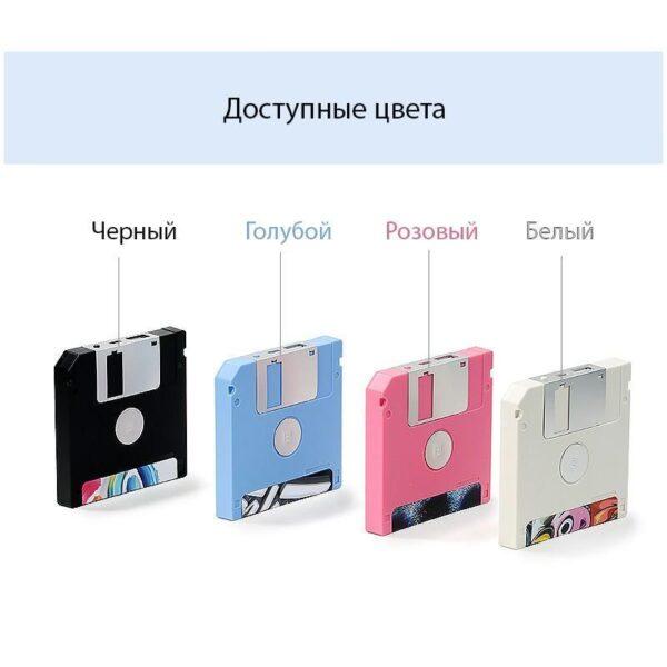 28311 - Power Bank Remax в стиле ретро - Дискета: 5000 мАч, USB-порт
