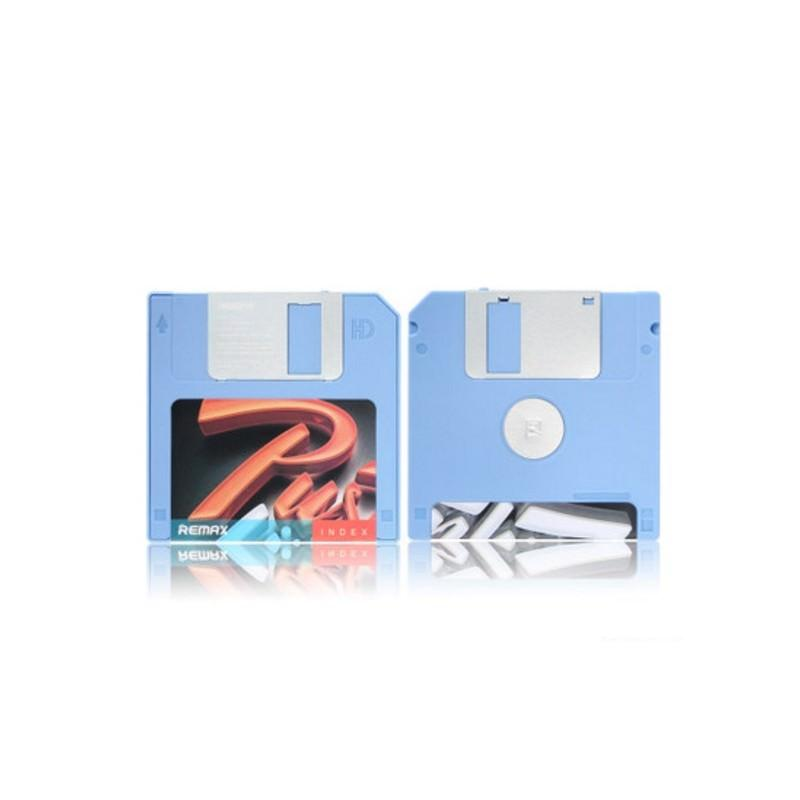 Power Bank Remax в стиле ретро – Дискета: 5000 мАч, USB-порт 205229