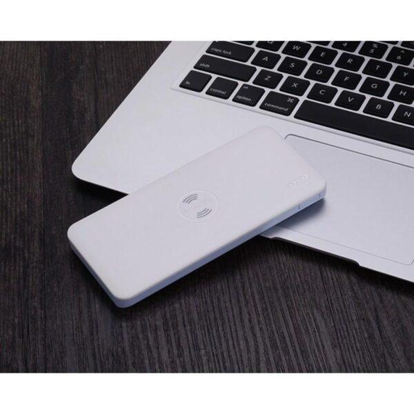 28323 - Power Bank Romoss Freemos 5 - 5000 мАч, 2 х USB, поддержка беспроводной Qi-технологии