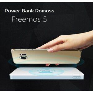 Power Bank Romoss Freemos 5 – 5000 мАч, 2 х USB, поддержка беспроводной Qi-технологии