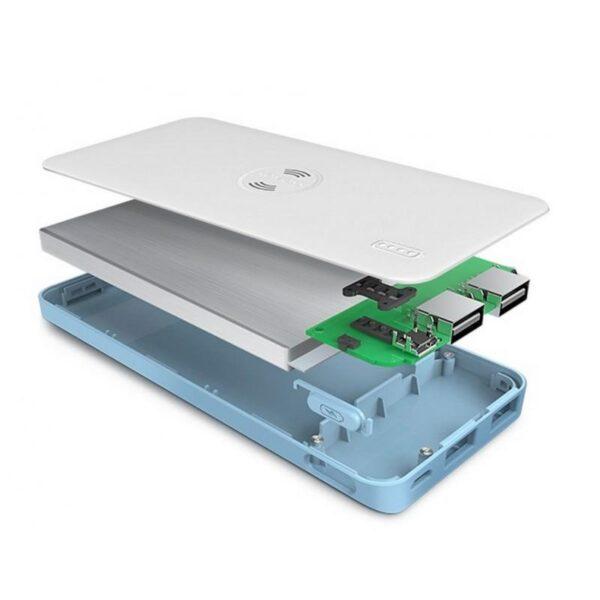 28328 - Power Bank Romoss Freemos 5 - 5000 мАч, 2 х USB, поддержка беспроводной Qi-технологии