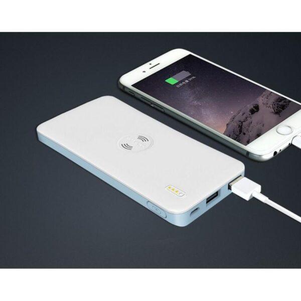 28333 - Power Bank Romoss Freemos 5 - 5000 мАч, 2 х USB, поддержка беспроводной Qi-технологии