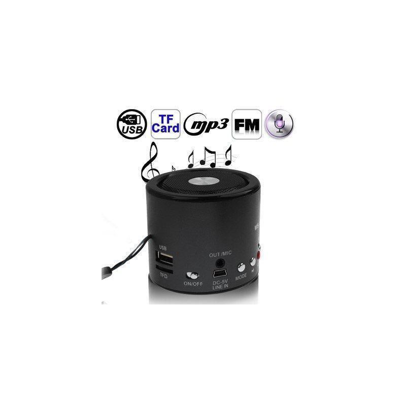 Автосказочник Fabler – портативная колонка с функцией записи, радио, поддержкой флеш-памяти и карт Micro SD