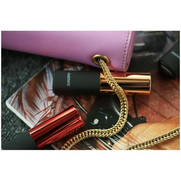 28352 - Power Bank-губная помада Remax Lipmax 2400 мАч: USB-выход