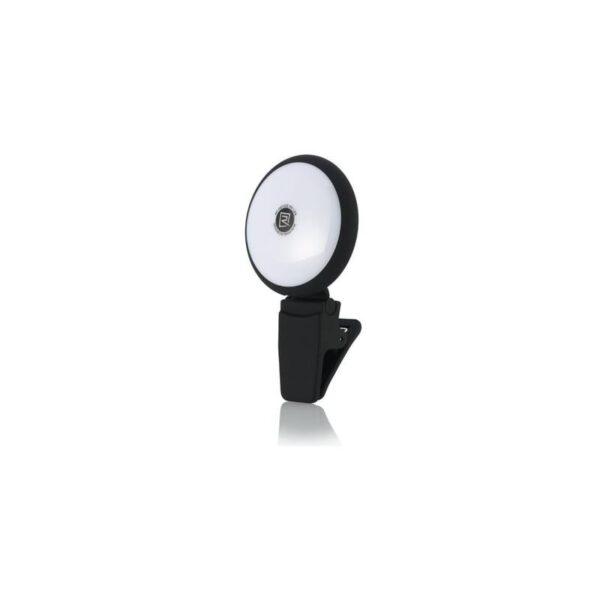 28393 - Внешняя подсветка/ мини-прожектор для смартфона Remax Selfie Spot Light: 8 светодиодов, 9 режимов работы