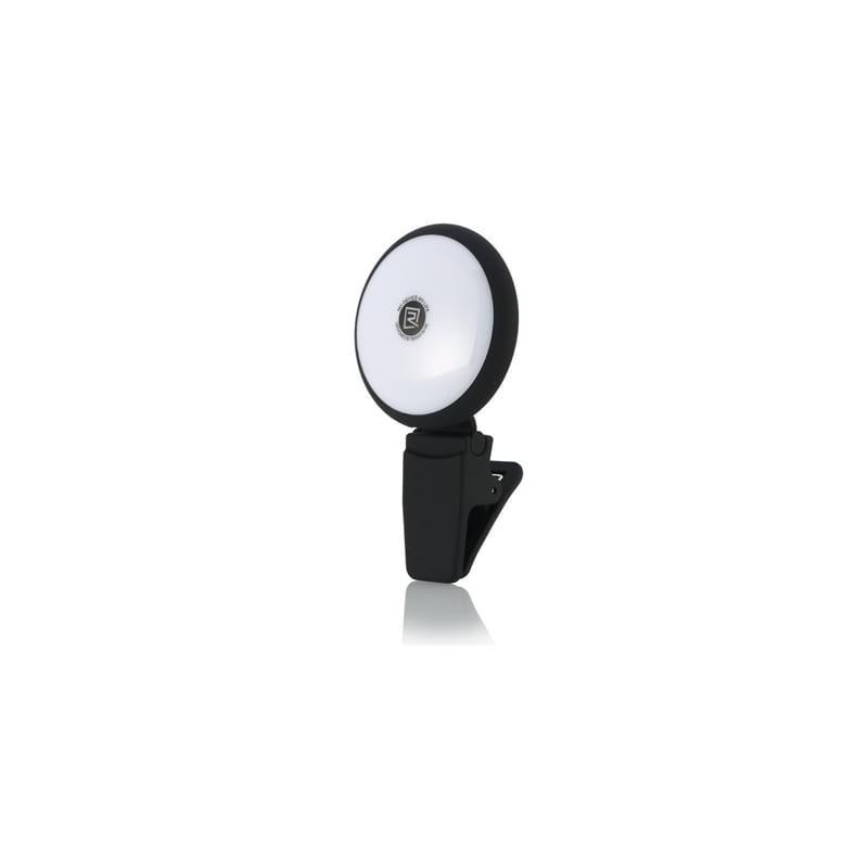 Внешняя подсветка/ мини-прожектор для смартфона Remax Selfie Spot Light: 8 светодиодов, 9 режимов работы 205298