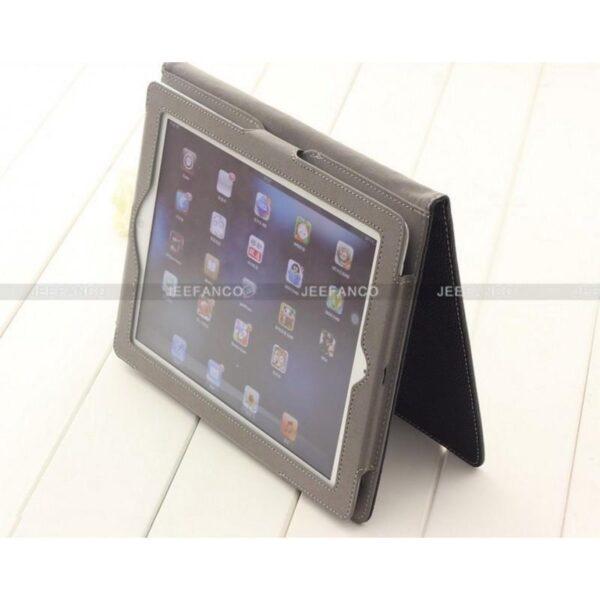 28411 - Кожаный чехол DROP от Jeefanco для iPad 2 / 3 / 4