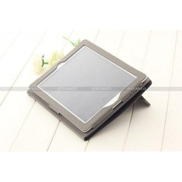28421 - Кожаный чехол DROP от Jeefanco для iPad 2 / 3 / 4