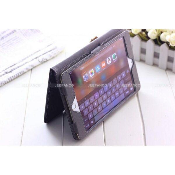 28442 - Стильный кожаный чехол iPcase от Jeefanco для iPad mini 4