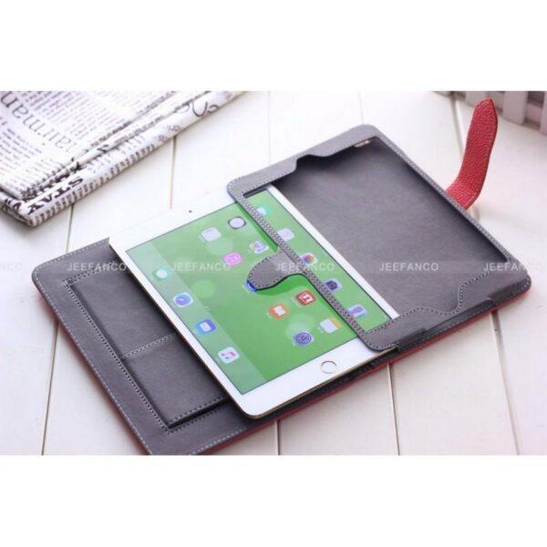 28447 - Стильный кожаный чехол iPcase от Jeefanco для iPad mini 4