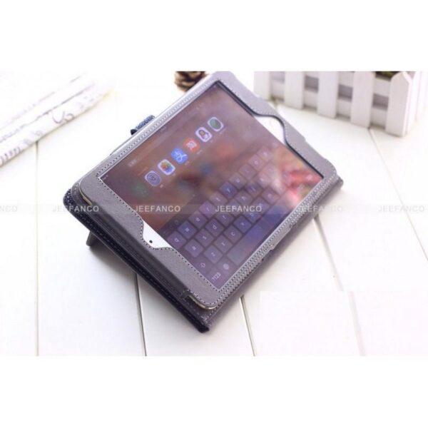 28448 - Стильный кожаный чехол iPcase от Jeefanco для iPad mini 4