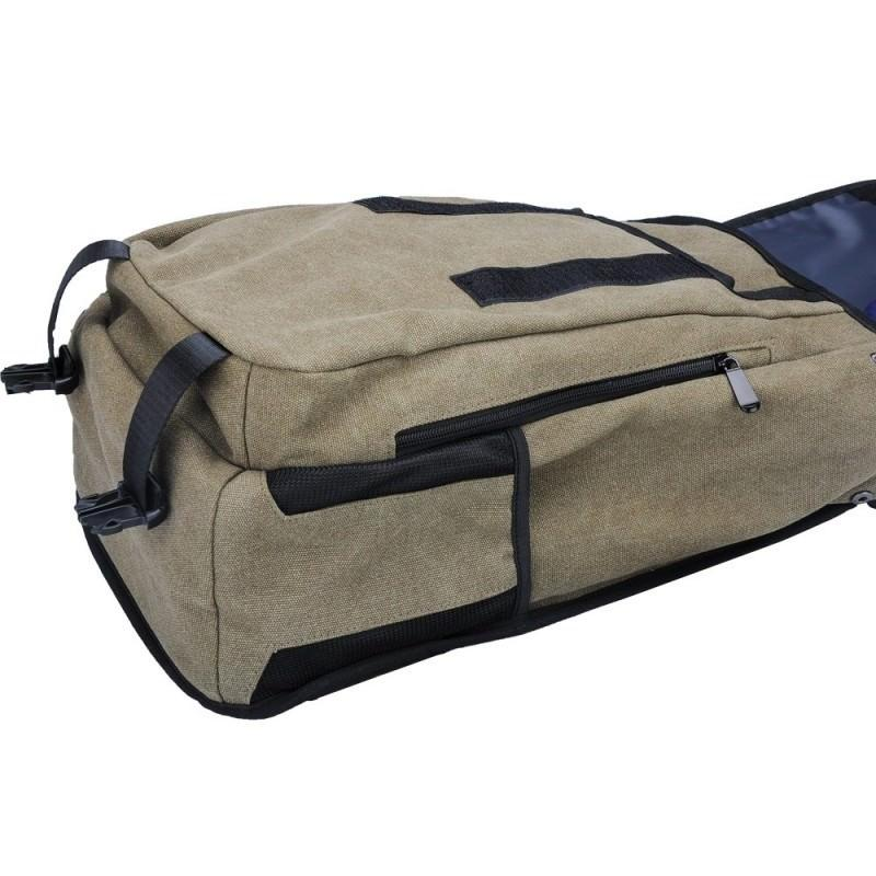 Прочный рюкзак с монокристаллической солнечной панелью 10 Вт для ноутбука, планшета, телефона (22% эффективность, выход 6V 2A) 185790