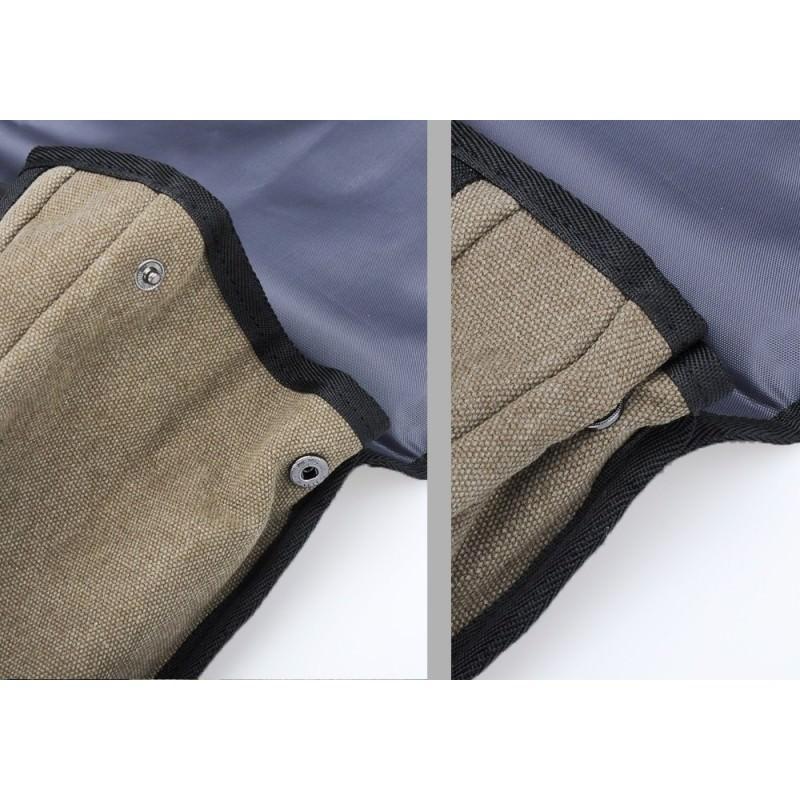 Прочный рюкзак с монокристаллической солнечной панелью 10 Вт для ноутбука, планшета, телефона (22% эффективность, выход 6V 2A) 185793