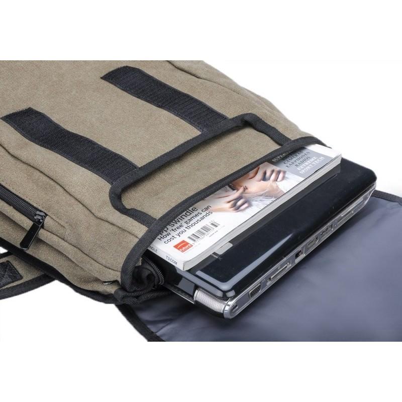 Прочный рюкзак с монокристаллической солнечной панелью 10 Вт для ноутбука, планшета, телефона (22% эффективность, выход 6V 2A) 185795