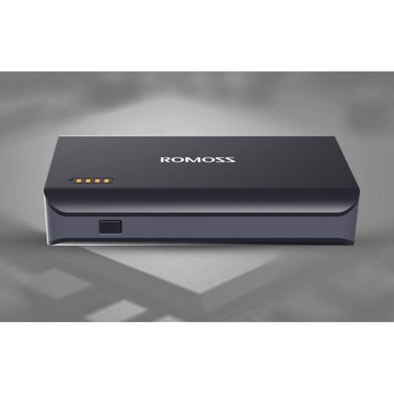 28643 - Универсальный мощный Power Bank Romoss Sense X - 10 000 мАч, 2 х USB, индикатор заряда, 5V/9V/12V, фонарик