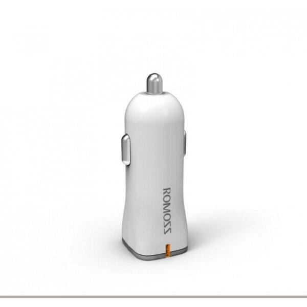 28667 - Автомобильное зарядное устройство ROMOSS AU12 - 12 Вт, 2 х USB, макс. 2.4А