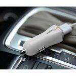 28675 thickbox default - Автомобильное зарядное устройство ROMOSS AU15 - 15 Вт, USB, макс. 2.4А, 5V / 9V / 12V
