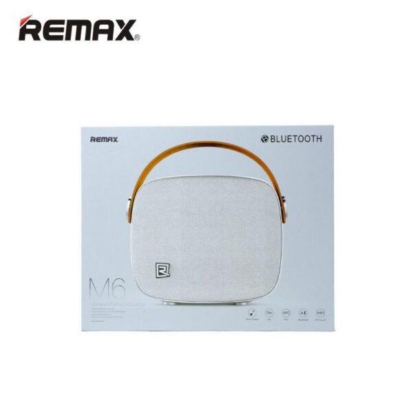 28697 - Портативная Bluetooth колонка Remax M6: 5Вт, гарнитура, 6 часов непрерывной работы, Bluetooth 4.1, NFS, iOS/ Android