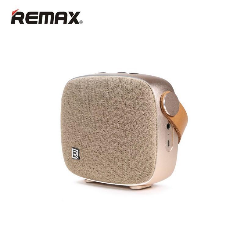 28700 - Портативная Bluetooth колонка Remax M6: 5Вт, гарнитура, 6 часов непрерывной работы, Bluetooth 4.1, NFS, iOS/ Android