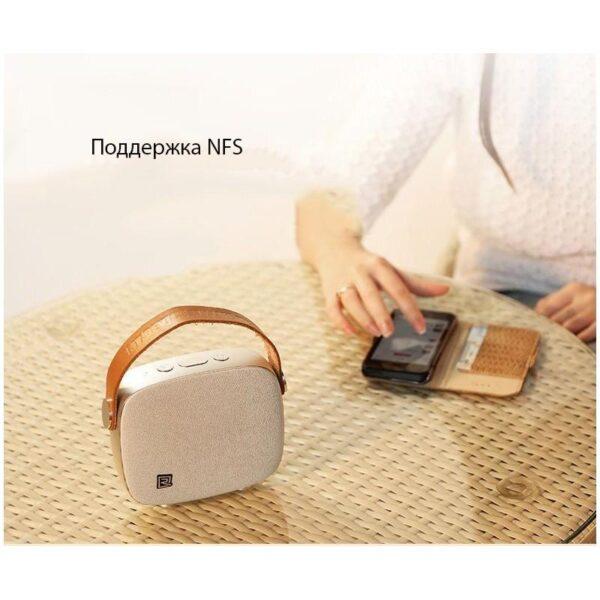 28710 - Портативная Bluetooth колонка Remax M6: 5Вт, гарнитура, 6 часов непрерывной работы, Bluetooth 4.1, NFS, iOS/ Android