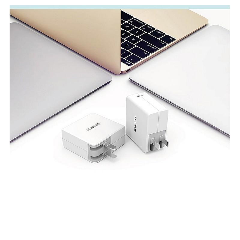 Адаптер питания Romoss AC29 Type-C для Apple MacBook – 5V 3A, 9V 2A, 14.5V 2A