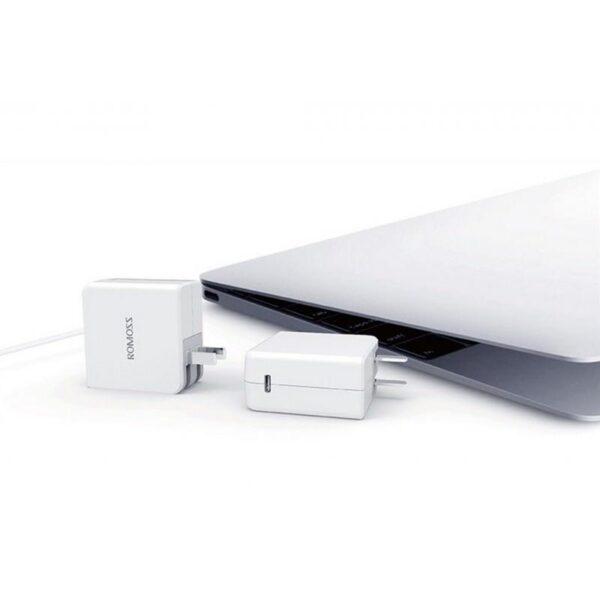 28727 - Адаптер питания Romoss AC29 Type-C для Apple MacBook - 5V 3A, 9V 2A, 14.5V 2A