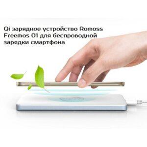 Беспроводное Qi зарядное устройство Romoss Freemos 01