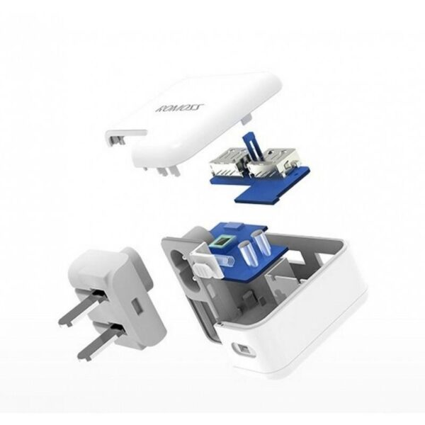 28750 - Адаптер питания Romoss AC12S на два выхода USB