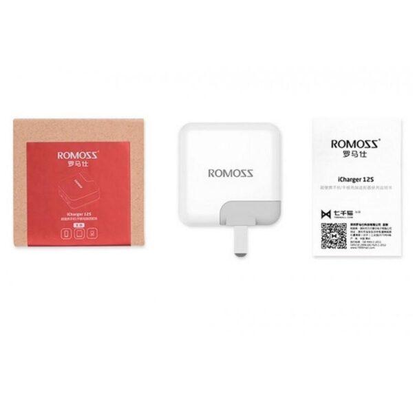 28751 - Адаптер питания Romoss AC12S на два выхода USB