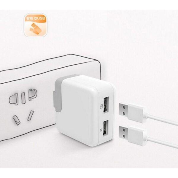 28757 - Адаптер питания Romoss AC12S на два выхода USB