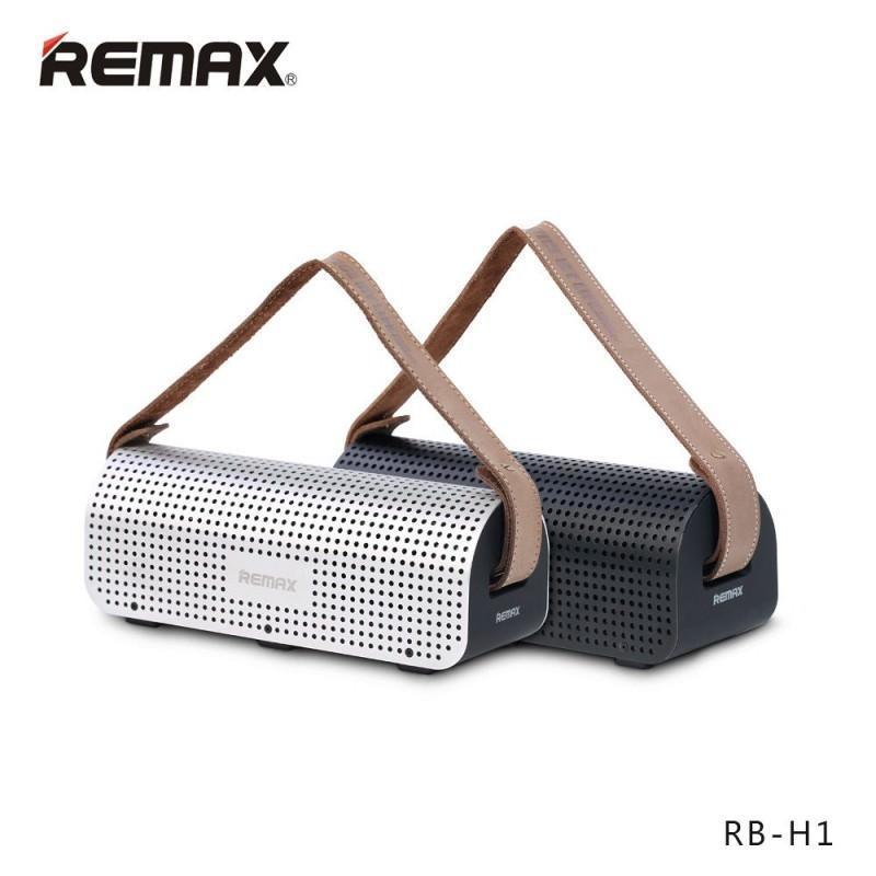 28765 - Портативная Bluetooth колонка-Power Bank Remax H1: 5Вт, гарнитура, 8800 мАч, Bluetooth 4.0, NFS, AUX-кабель, Micro SD