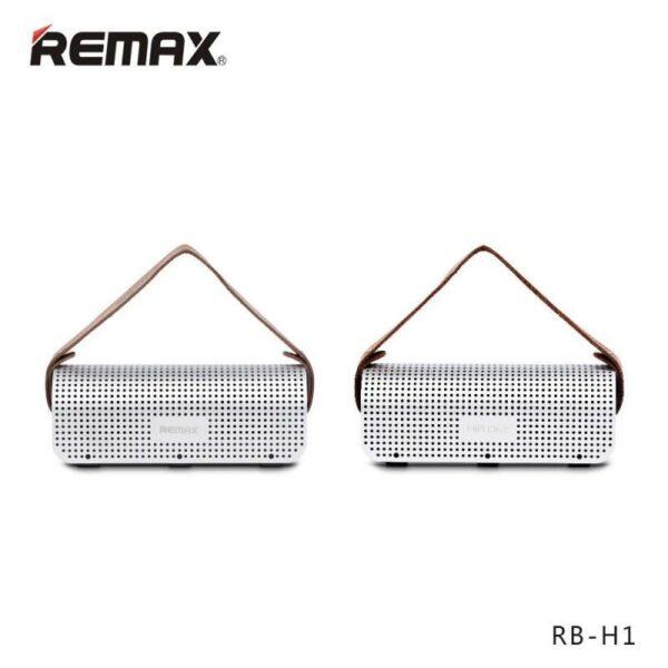 28766 - Портативная Bluetooth колонка-Power Bank Remax H1: 5Вт, гарнитура, 8800 мАч, Bluetooth 4.0, NFS, AUX-кабель, Micro SD