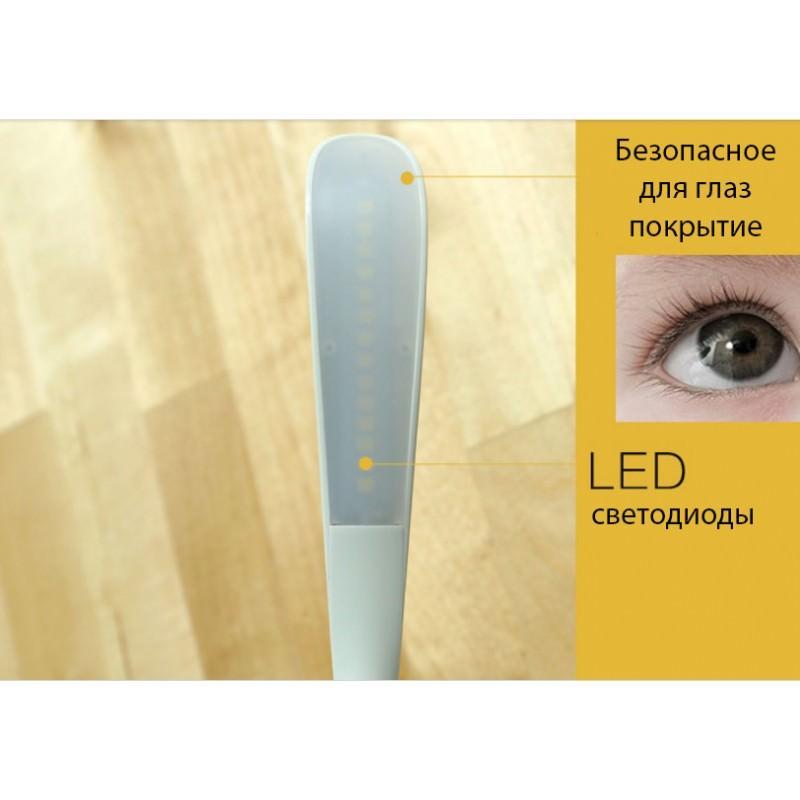 Гибкая настольная LED лампа Remax Milk: 50000 часов, 120 люмен 205678
