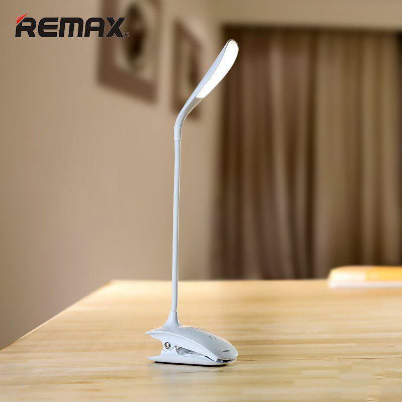 Гибкая настольная LED лампа Remax Milk: 50000 часов, 120 люмен