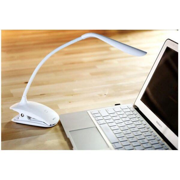 28818 - Гибкая настольная LED лампа Remax Milk: 50000 часов, 120 люмен
