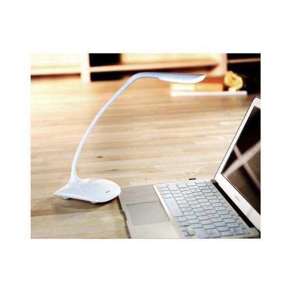 28820 - Гибкая настольная LED лампа Remax Milk: 50000 часов, 120 люмен