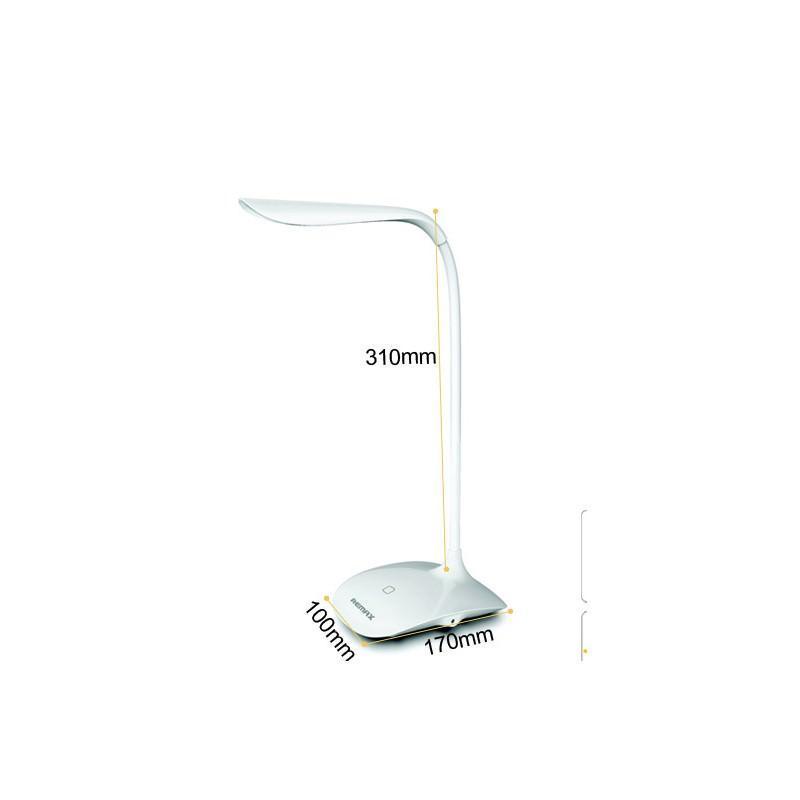 Гибкая настольная LED лампа Remax Milk: 50000 часов, 120 люмен 205687